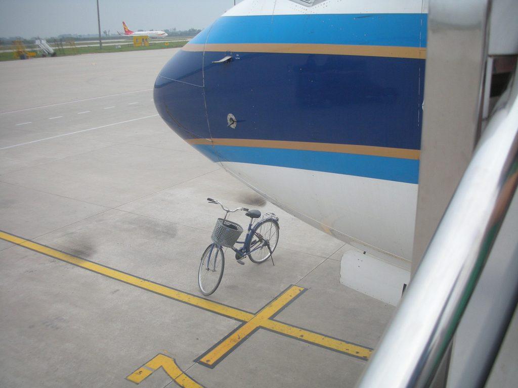 Je fiets meenemen in het vliegtuig op vakantie