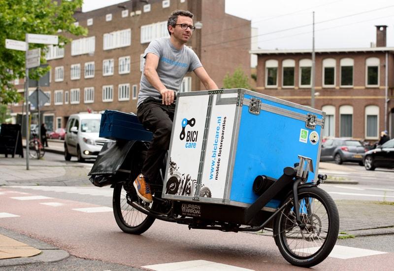 Mobiele fiets reparaties in Amsterdam - Wij komen naar je toe!