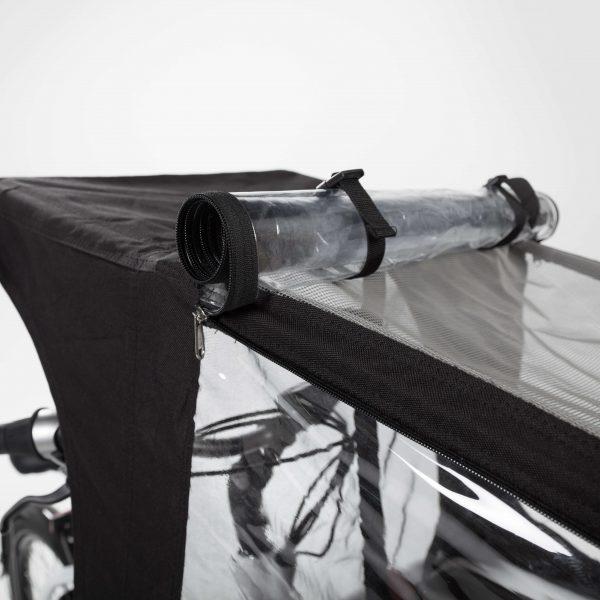 Bakfiets beschermen tegen de regen