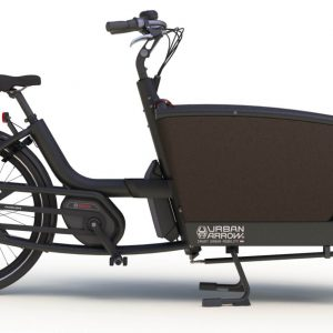 Urban Arrow Family e-bike 2017 - zwart