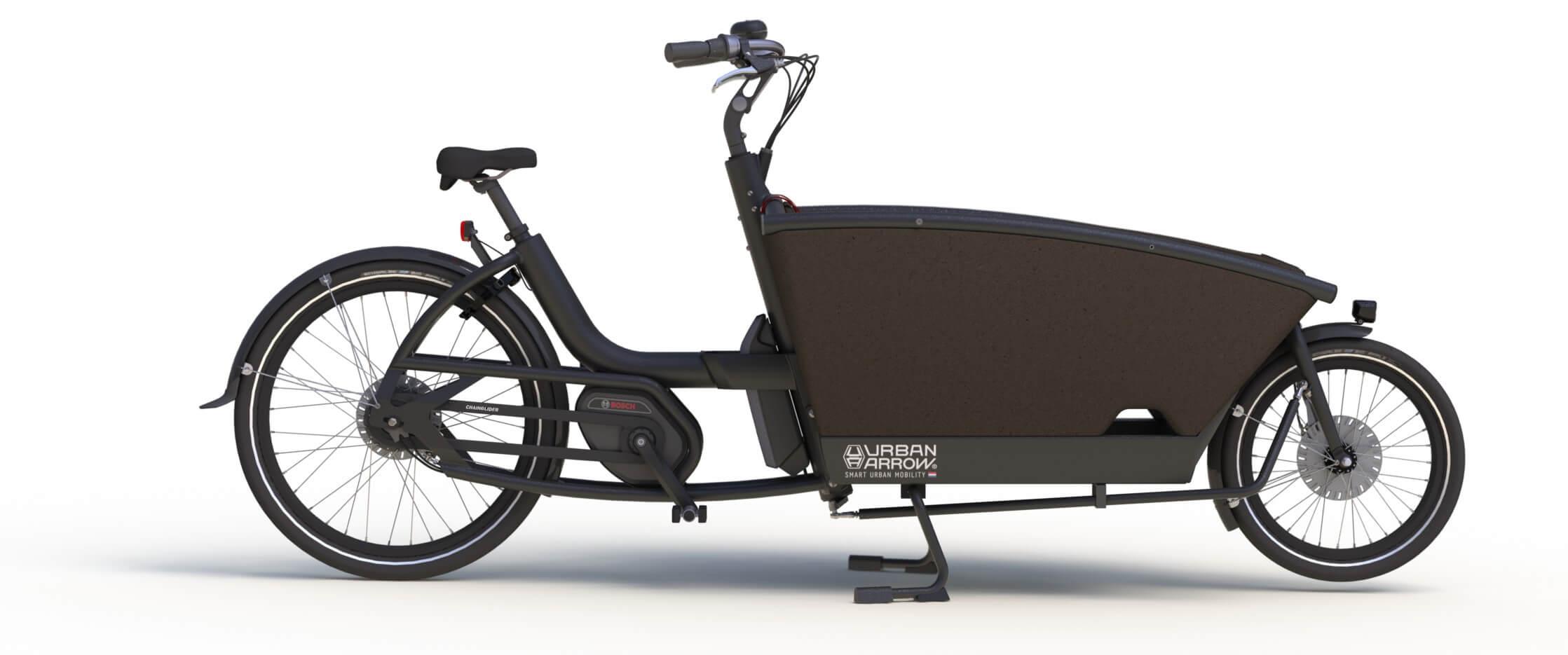 Urban Arrow Family e-bike 2017 - zwart