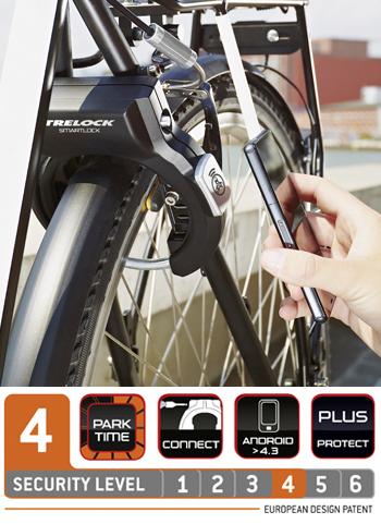 Trelock smartlock SL 460 openen met app