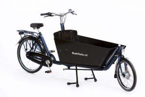 Bakfiets.nl - CargoBike Classic Long zwart