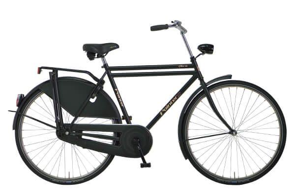 Glorie RVS - heren fiets van Pointer Rijwielen