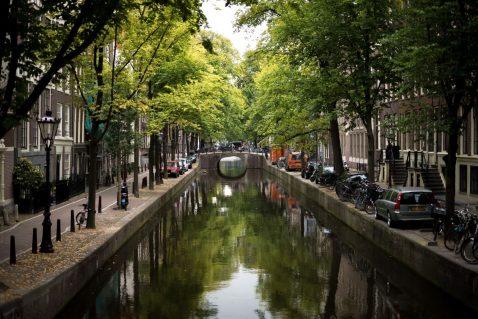 Fiets huren in Amsterdam West - rondje grachten