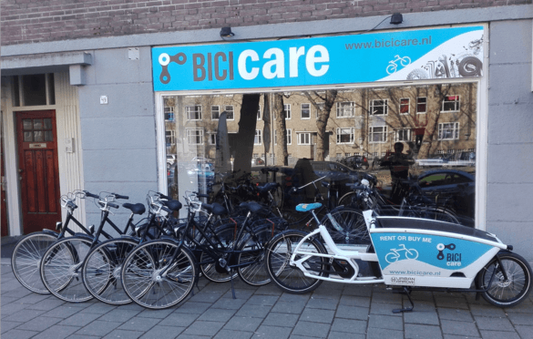 Bike rental de Baarsjes