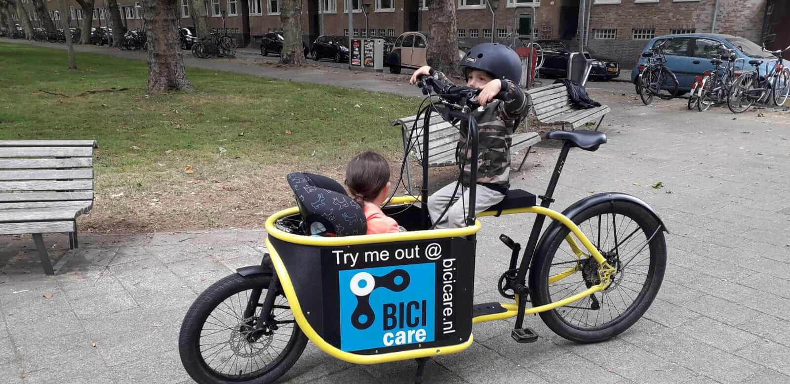 Bakfiets Bogbi Amsterdam